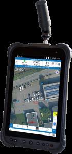 Handheld RTK tablet