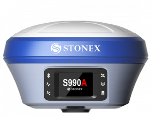 Stonex S990A GNSS receiver with IMU and UHF radio